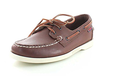 Sebago Men's Docksides Loafers Brown in size UK 8 E (W)