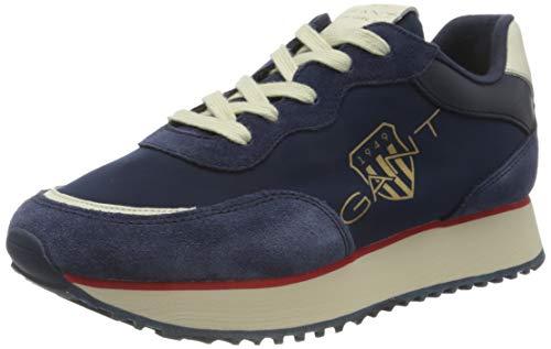 GANT FOOTWEAR Damen BEVINDA Sneaker, Marine, Marine, 39