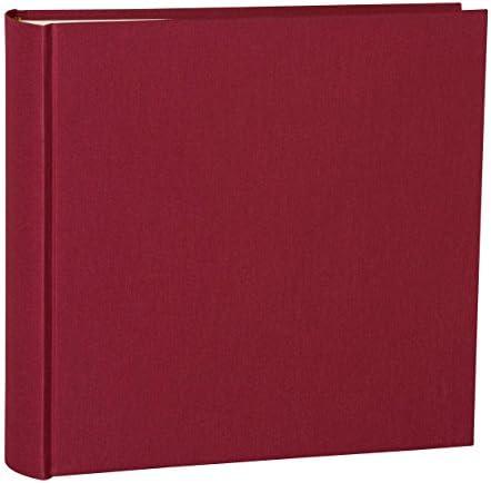 Album photo extra large avec reliure en lin de Semikolon XL chamois