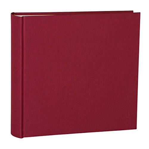Album XL bordeaux +++ 65 fogli di Cartoncino foto e fogli intermedi in pergamena +++ LIBRO PER INCOLLARE FOTO +++ qualità originale Semikolon