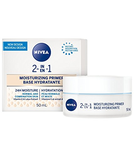 Nivea 2-in-1 moisturizing primer, normal/mixed skin, 50ml