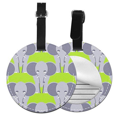 Etiquetas para Equipaje Bolso ID Tag Viaje Bolso De La Maleta Identifier Las Etiquetas Maletas Viaje Luggage ID Tag para Maletas Equipaje Bestia Elefante