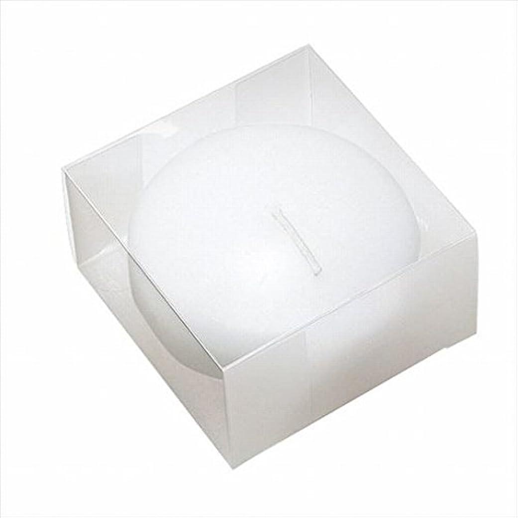 タイピスト操作歯科のカメヤマキャンドル(kameyama candle) プール80(箱入り) 「 ホワイト 」
