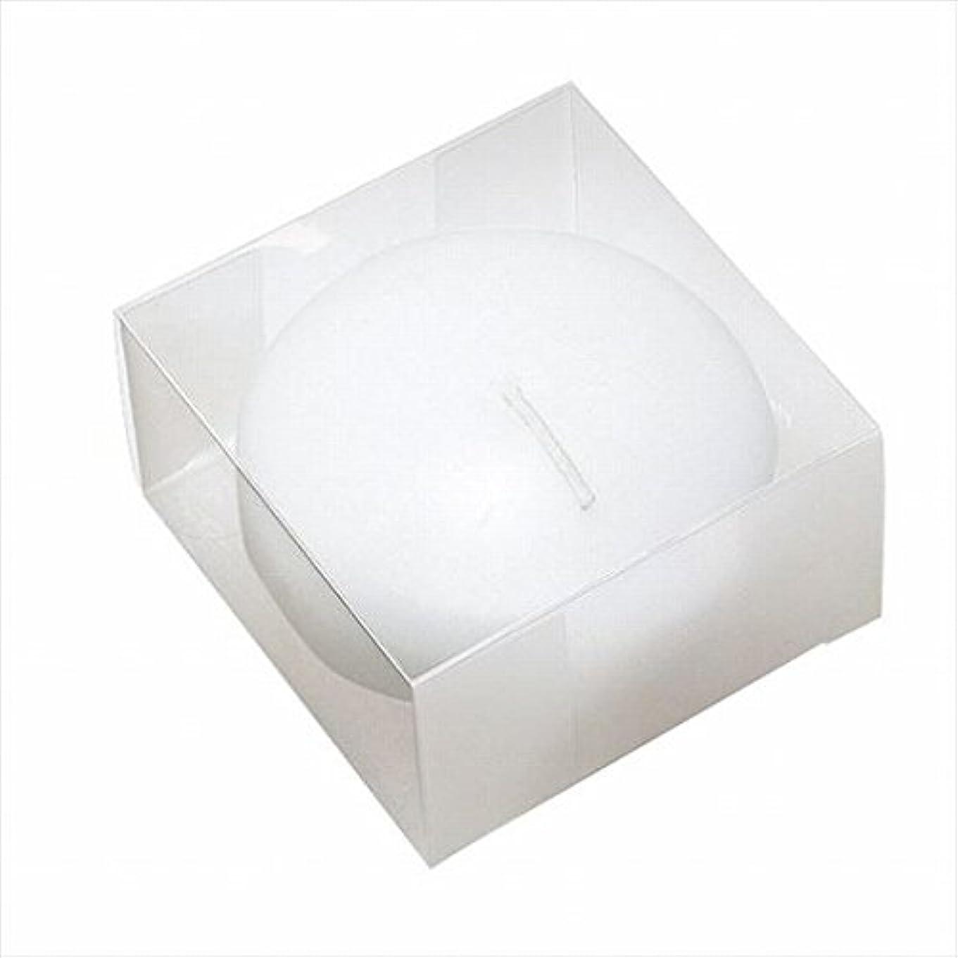 潜水艦エスニック大きいカメヤマキャンドル(kameyama candle) プール80(箱入り) 「 ホワイト 」