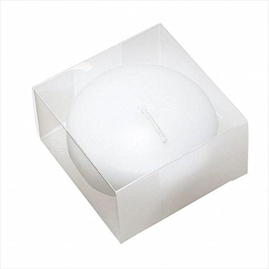 今後郡没頭するカメヤマキャンドル(kameyama candle) プール80(箱入り) 「 ホワイト 」