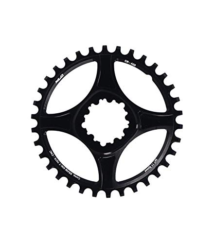 MASE Sports GXP Direct Mount CR-A23 - Plato para bicicleta de montaña (34 dientes), color negro