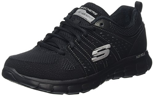 Skechers Synergy-look Book Damen Laufschuhe, Bbk, 39 EU