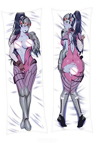SUSUFAIRY Widowmaker Overwatch 160x50cm Peach Skin Body Pillowcase Cover