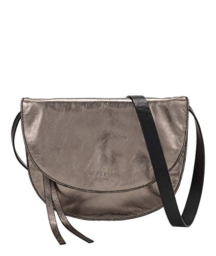 Liebeskind Berlin Damen Dive Bag 2 Metallic-Clutch Small, Silber (Warm Silver), 2x21x21 cm