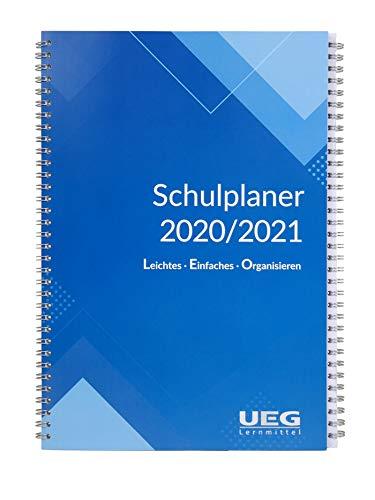 Lehrerkalender - Schulplaner LEO A5 für das neue Schuljahr 2020-2021 Neu+gratis: Wandkalender DIN A2 für das Schuljahr 2020-2021 -Lehrerplaner - Unterrichtsplaner