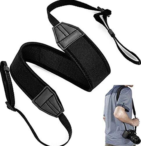 Correa bandolera de neopreno compatible con Sigma neck strap empuñadura shoulder hombro cinturón cuello cámara SD QUATTRO H DP0 DP1 DP2 DP3 SD1 MERRILL SD1 SD15 DP1S SD14 SD10 SD9 FP