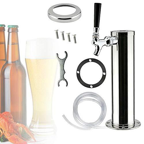 Torre di birra In Acciaio Inox Birra alla spina Torre (Tre Rubinetti) per la Casa Bar Pub Uso Domestico Progetto Pompa di Birra Rubinetto