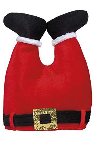Boland 13434 kerstmuts broek, rood, Taglia unica