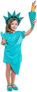 Disfraz de Estatua de la Libertad para niña
