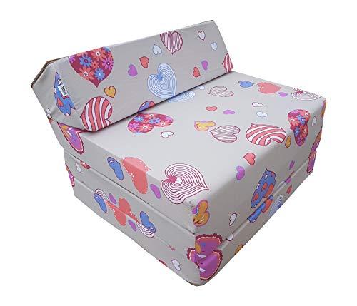 Natalia Spzoo Colchón plegable, cama de invitados, colchón de espuma 200x70 cm (C901)