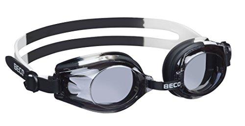 Beco Kinder Rimini Schwimmbrille 9926, mehrfarbig - Weiß/Schwarz, Einheitsgröße - One Size