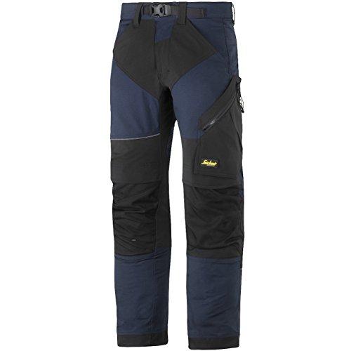 'Snickers Pantaloni da lavoro'flexiwork Taglia in 1pezzi, 48, colore: blu/nero, 69039504048
