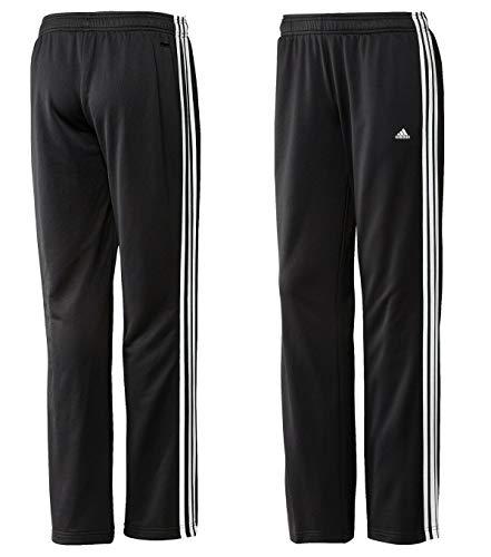 Adidas Jogginghose Damen Mädchen Schwarz 3-Streifen Trainingshose Pant W60785 Größe XS/S