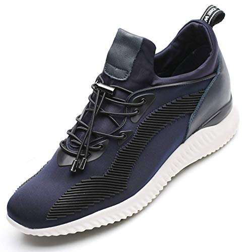 CHAMARIPA Zapatos con Alzas Interiores para Hombres - 7CM Que Aumentan Su Altura - Deportes de Exterior Sneaker