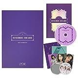 IZONE 3rd Mini Album - ONEIRIC DIARY [ ONEIRIC ver. ] CD + Photobook + Photocards + AR Card + AR Postcard + Iz*Room Sticker + OFFICIAL POSTER + FREE GIFT