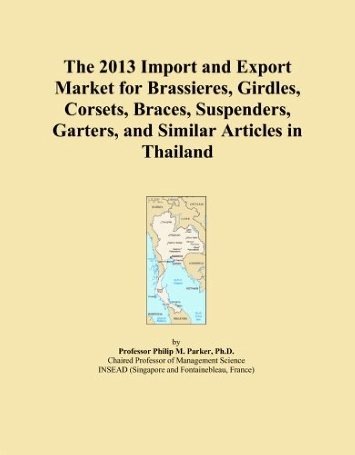 汚染する日焼け踏み台The 2013 Import and Export Market for Brassieres, Girdles, Corsets, Braces, Suspenders, Garters, and Similar Articles in Thailand