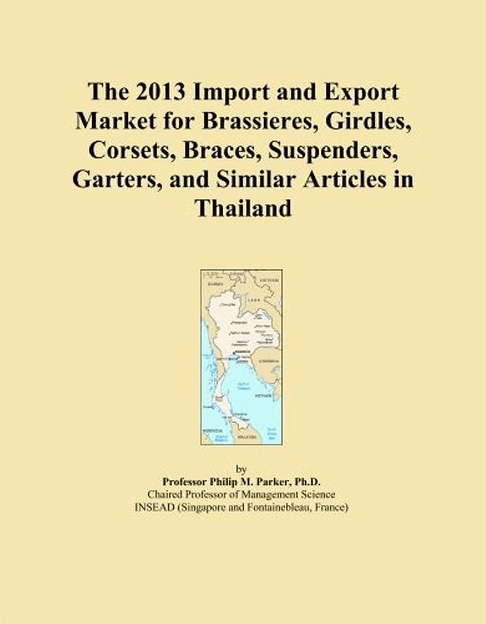スプリットトレード無知The 2013 Import and Export Market for Brassieres, Girdles, Corsets, Braces, Suspenders, Garters, and Similar Articles in Thailand