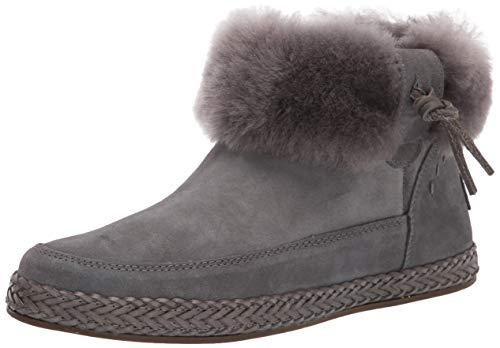UGG Elowen Boot, Charcoal, Size 5