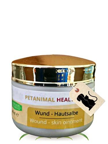Peticare Wund-Pflege für Hunde, Pferde, Katzen - Wund-Salbe bei starkem Juckreiz, Bisswunden, Schürfwunden - petAnimal Health 2107