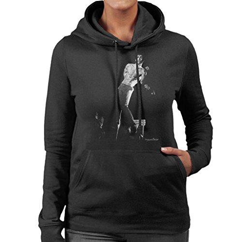Howard Barlow officiële fotografie - Iggy Pop Manchester Apollo 1977 vrouwen Hooded Sweatshirt