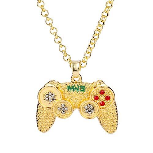 Xuwen Spielmaschine Griff Schlüsselanhänger Schlüsselanhänger Email Mode Spiel Controller Gamepad Keychain Männer Frauen Schlüssel Ringhalter