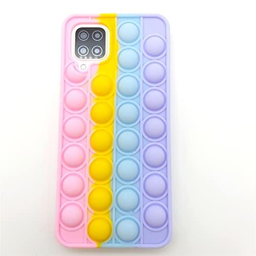 for Samsung A20 Case Galaxy A30 A30S Case Cute Galaxy A50 A50S Case Sensory Push Pop Bubble 3D Fidget Toys Teen Girls Women Boys Soft Silicone Rubber Phone Case Cover for Samsung Galaxy A20 (A20)