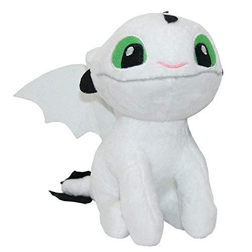 Joy Toy Auswahl Baby Nachtlichter   Softwool 15 cm Plüsch-Figur   DreamWorks Dragons, Plüsch:Baby Nachtschatten 3