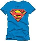 Cotton division - HSUPTS1240 - Superman T-shirt - Homme - Bleu (Cobalt) - Taille: L