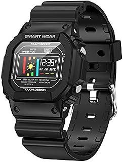 Intelligent Watch, 200mah Multifunctional Waterproof Message Reminding Digital Wristband Health and Sports 2in1 Smart Watc...