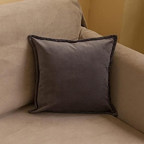 Cuscini,Soffice e Morbido, Traspirante per Sonno Profondo,adatto per Dormire in Tutte Le Posizioni -Grigio_55 * 55 cm.