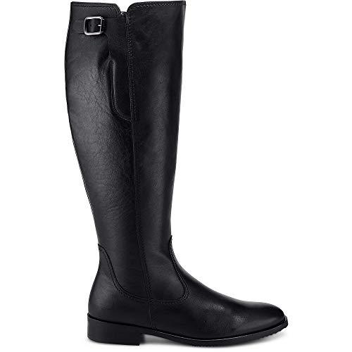 Gabor dames laarzen XL schacht 92.758.57 zwart 530764