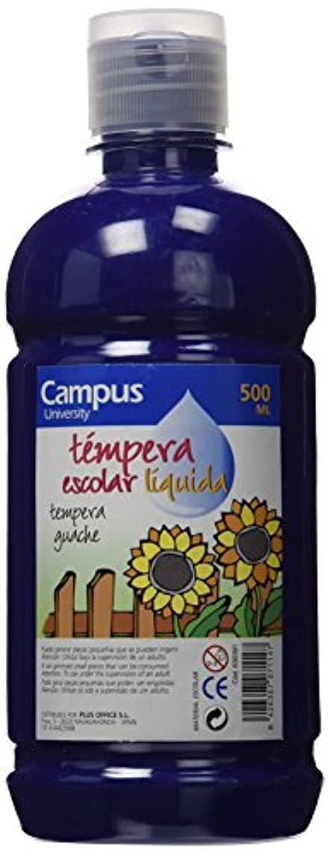 CAMPUS University g500-bl?–?Tempera Paint Pot 500?G, Ultramarine Blue