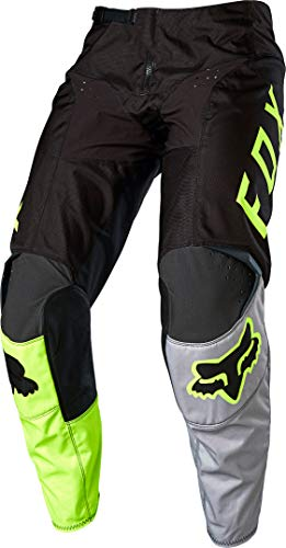 FOX 180 Lovl Motocross Hose Schwarz/Gelb 30
