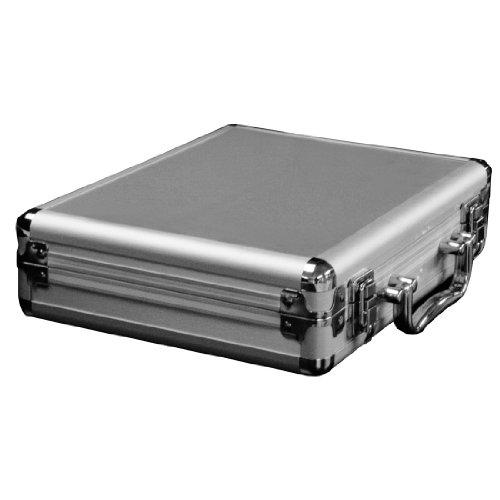Accu Case Accessoire-koffer, mini, zilverkleurig