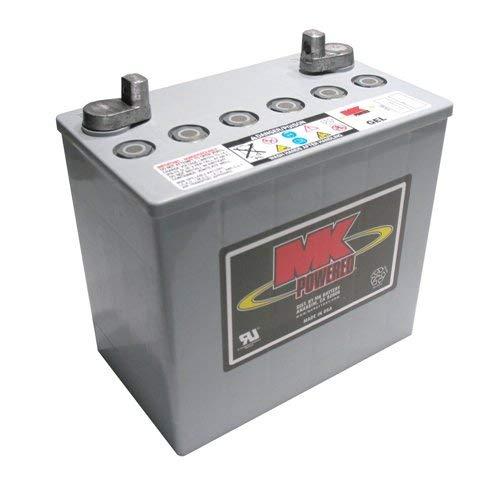 MK Gel-Batterie für Elektromobil und Elektrostuhl, 12 V, 50 Ah