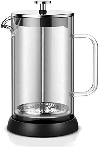 NCRD Ekspres do kawy francuskiej (34oz), 304 Prasa do kawy ze stali nierdzewnej z 3 filtrów Ekran-100% Brak pozostałości -Heat slaski borokrzemianowej