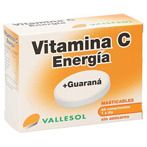 VALLESOL vitamina C energía + guaraná caja 24 uds