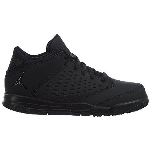 Jordan Nike Kids Flight Origin 4 Bp Negro / Negro / Negro Zapatillas de baloncesto 2.5 Ni?os EE. UU.