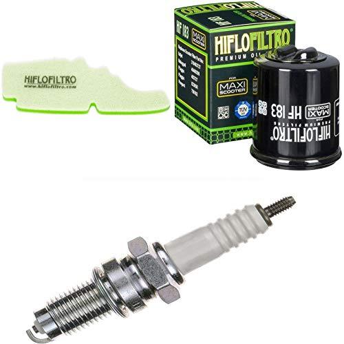 Filtro de aire, filtro de aceite, bujía, para Fly 125, año de construcción 2005 – 2011, kit de mantenimiento