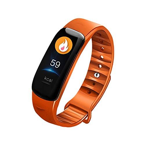 Pulsera deportiva Bluetooth inteligente impermeable para contador de pasos, alarma de sueño con frecuencia cardíaca y función de oxígeno en sangre.