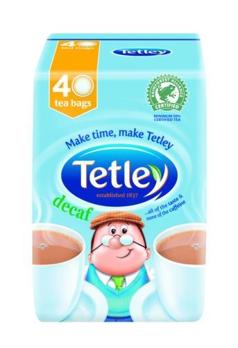 Tetley 40 bolsas de té descafeinado 40 unidades