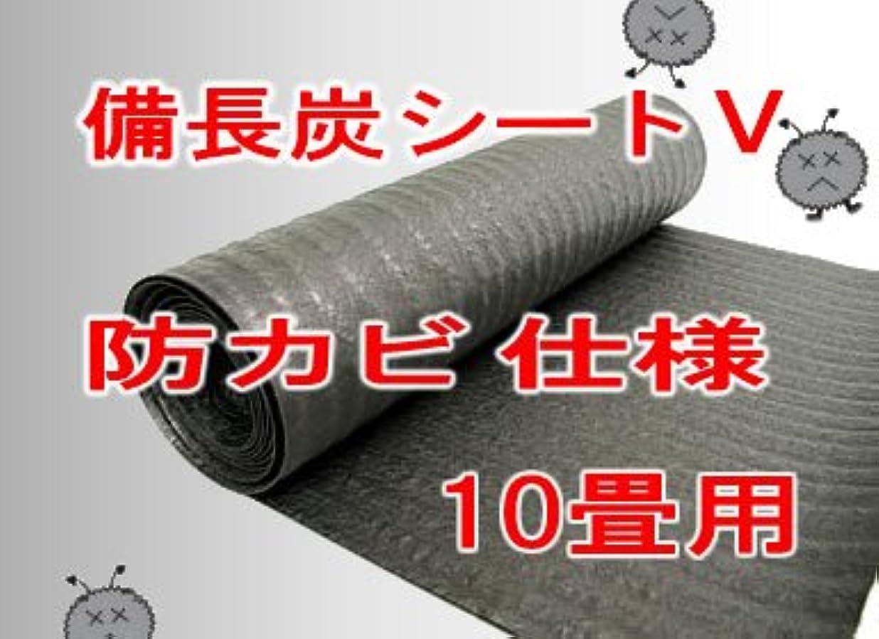 未払いするだろう列挙する備長炭シート V 防カビ仕様 10畳用 19m 湿気?カビ対策用 環境改善炭シート