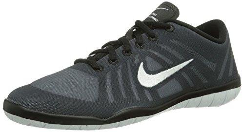 Nike Free 3.0 Studio Dance 641649-001 Damen Fitnessschuhe Schwarz (Black/White-Anthracite) 41