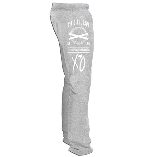 Bode Mens The Weeknd Logo Sweatpants