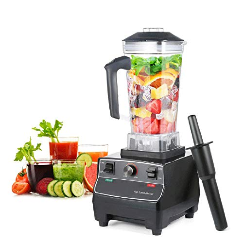 Countertop Commercial Blender, Jug BlendersFruit Juice Mixer with Self-Cleaning and 70oz Glass Jar Variable Speed Controls for Making Smoothies Shakes,220V